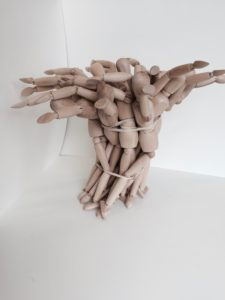 one minute sculpture